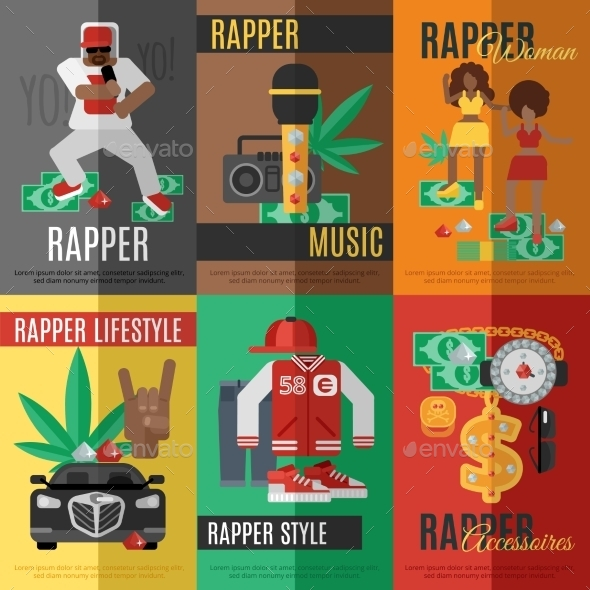 GraphicRiver Rap Music Poster 11396343