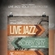 Live Jazz Flyer Templates Vol.3 - GraphicRiver Item for Sale