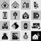 Energy Efficiency Icons Black - GraphicRiver Item for Sale