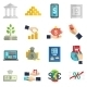 Banking System Icons Set - GraphicRiver Item for Sale