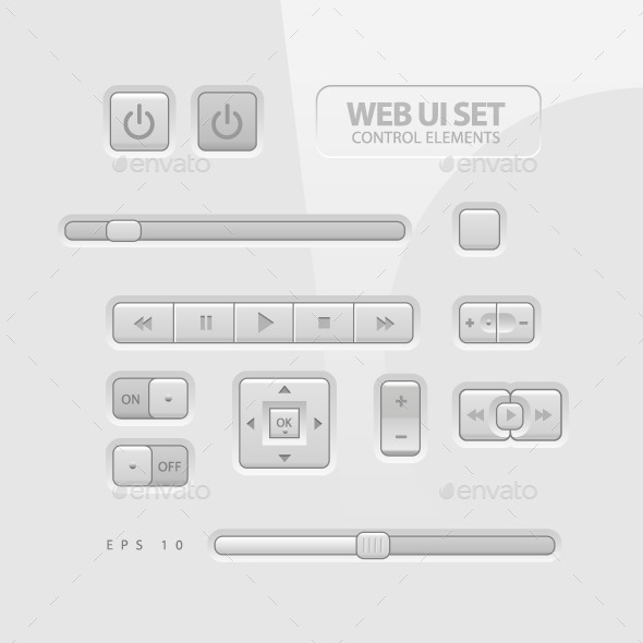 GraphicRiver Web UI Elements 11388435