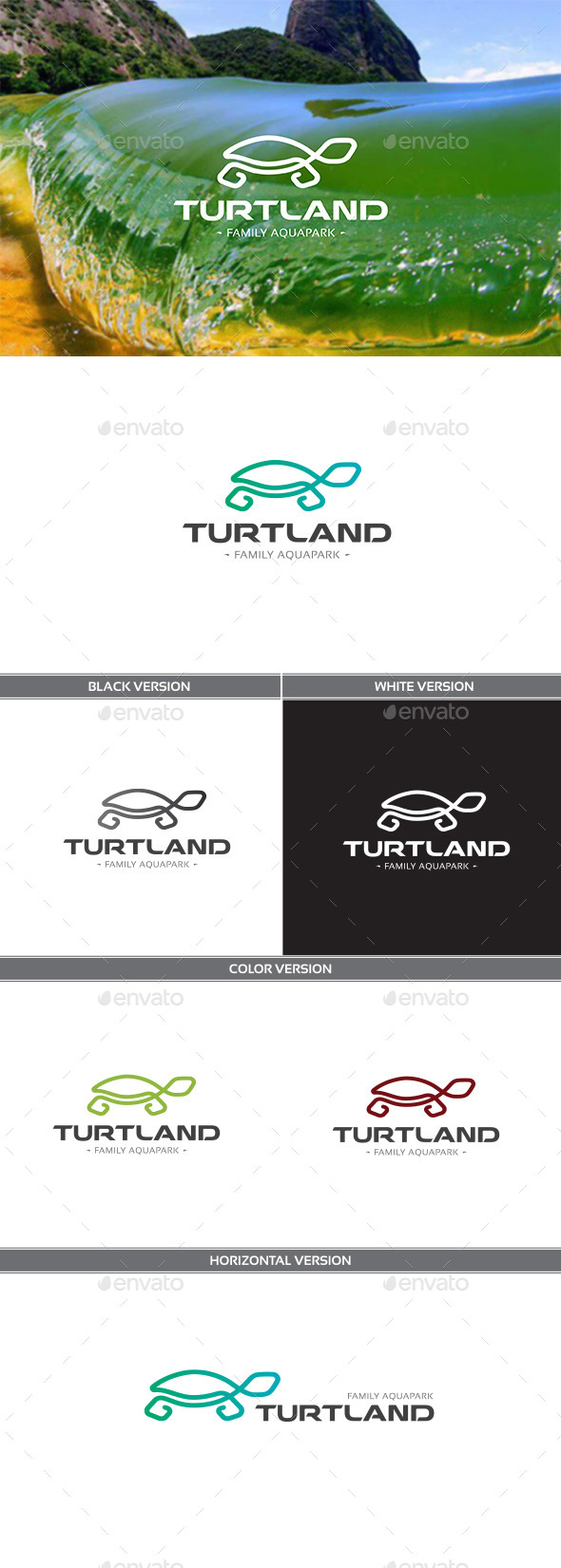 GraphicRiver Turtland 11399801