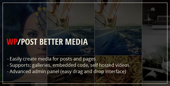 CodeCanyon WP Post Better Media 11399912