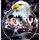 Independence Day Flyer Poster Template V2 - GraphicRiver Item for Sale