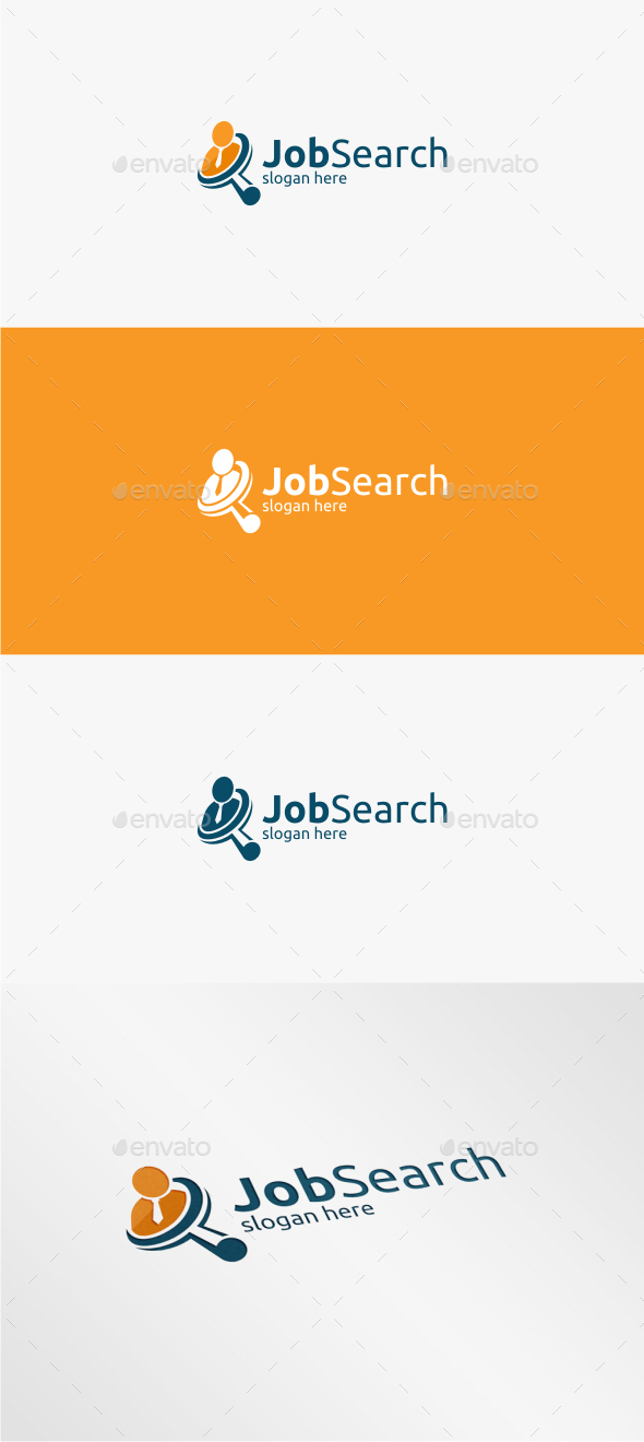 GraphicRiver Job Search Logo Template 11400339