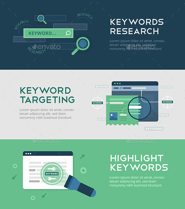 GraphicRiver Keywords Optimization Banners 11400612
