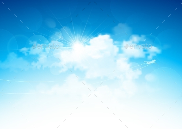 GraphicRiver Blue Sky and Clouds 11400675