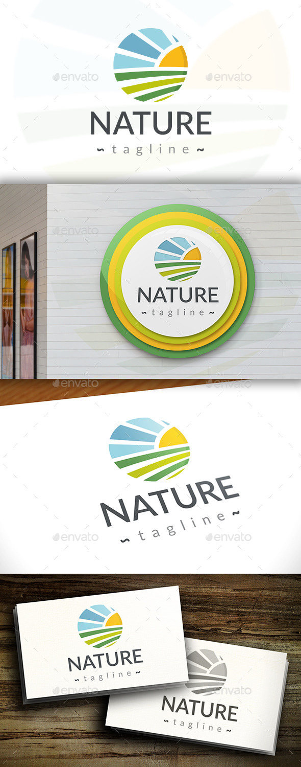 GraphicRiver Natural Growing Logo Template 11400697
