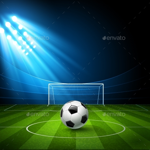 GraphicRiver Football Arena 11400749