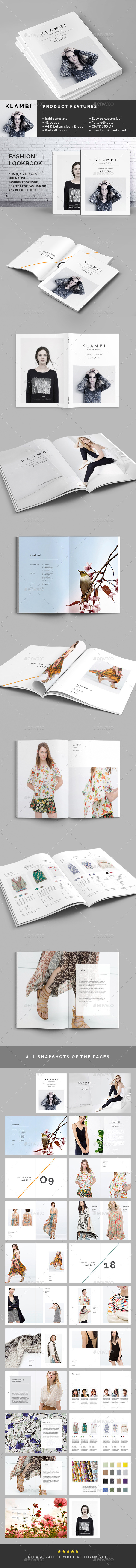 GraphicRiver Fashion Lookbook 11401509