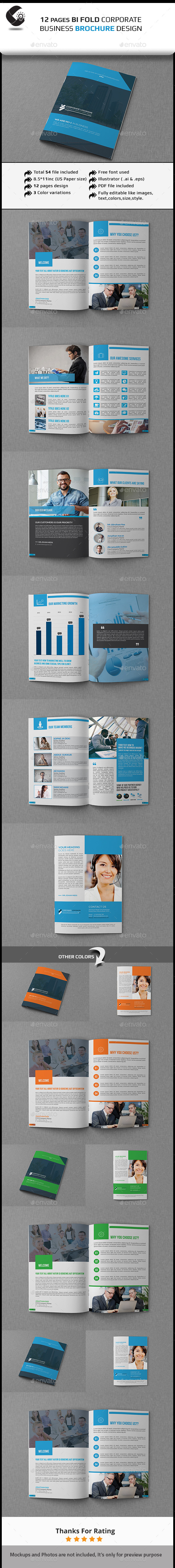 GraphicRiver 12 Pages Corporate Brochures 11401518