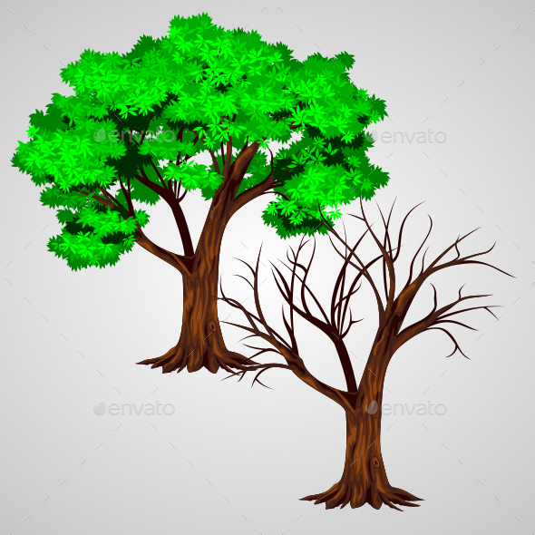 GraphicRiver Tree Vector 11401577