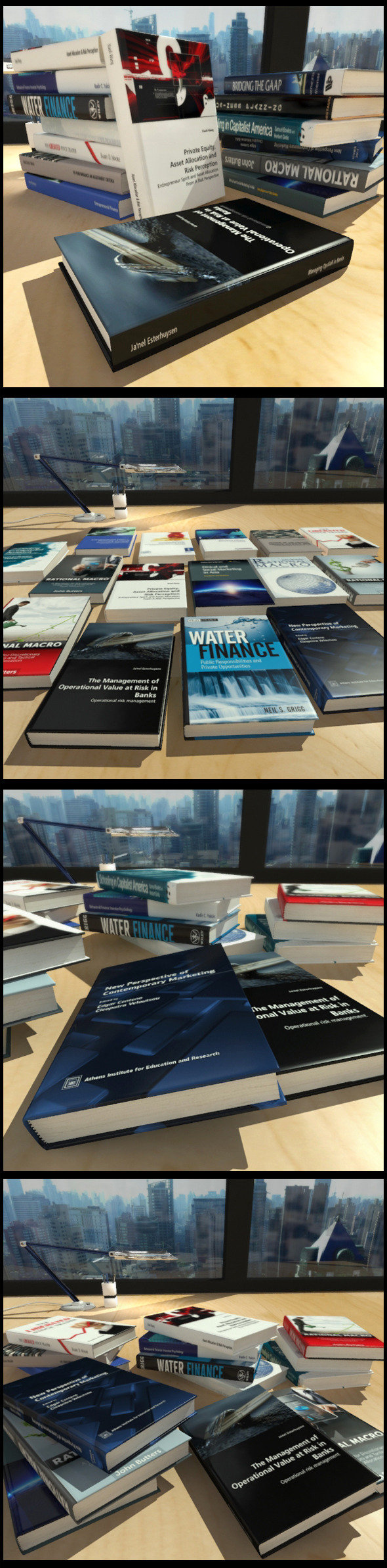 3DOcean 15 Business Books 11401595