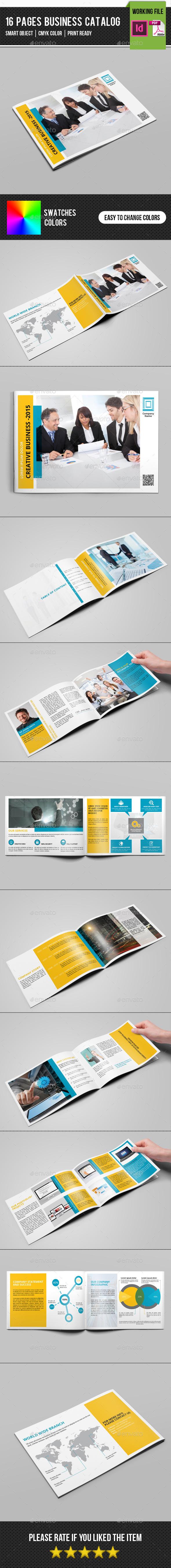 GraphicRiver Corporate Catalog Brochure-V167 11401598