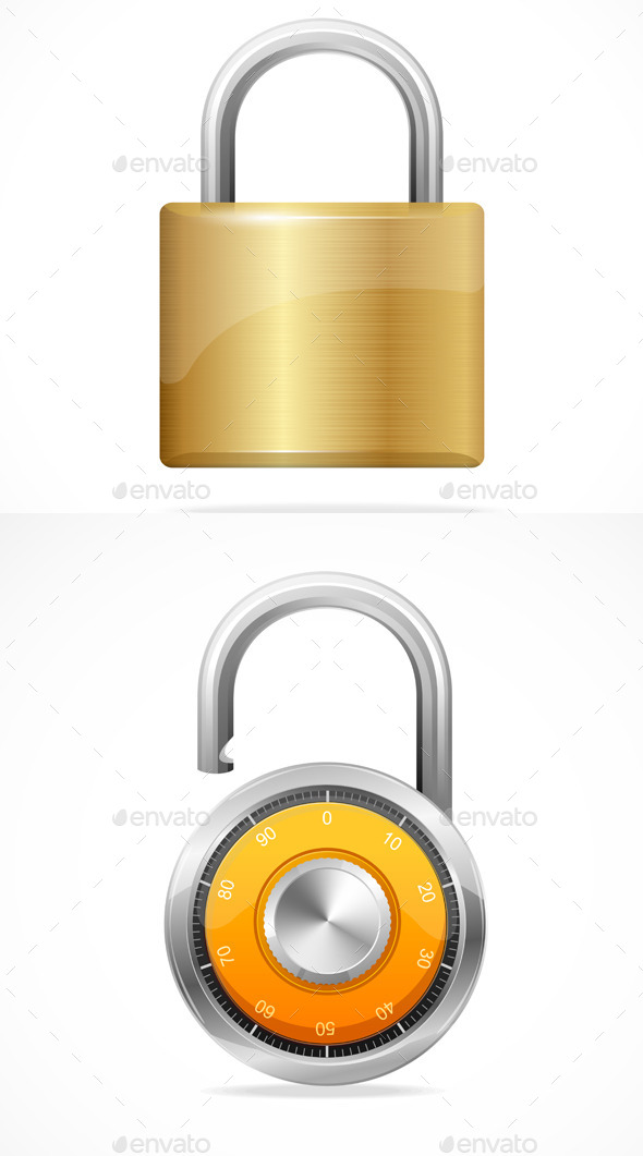 GraphicRiver Lock Set 11401644