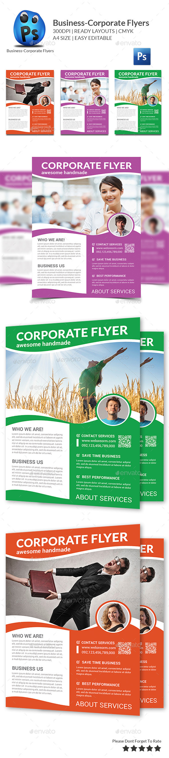 GraphicRiver Corporate Business Flyer Template 11401734