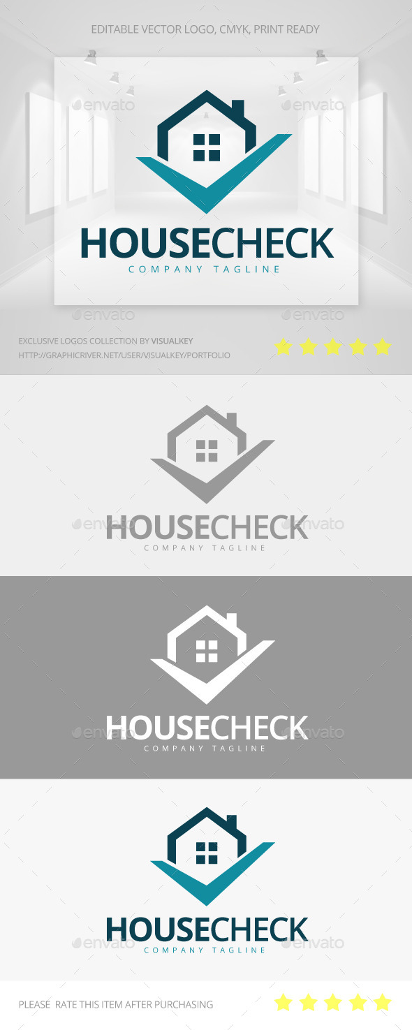 GraphicRiver House Check Logo 11401848