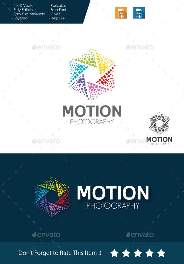 GraphicRiver Motion Photography Logo 11401858