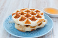 Whole wheat waffles with syrup - PhotoDune Item for Sale