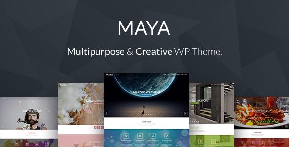 Maya - Smart & Powerful WP Theme