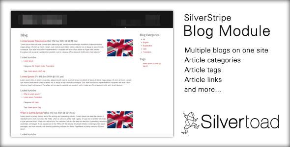CodeCanyon SilverStripe Blog Module 11402242