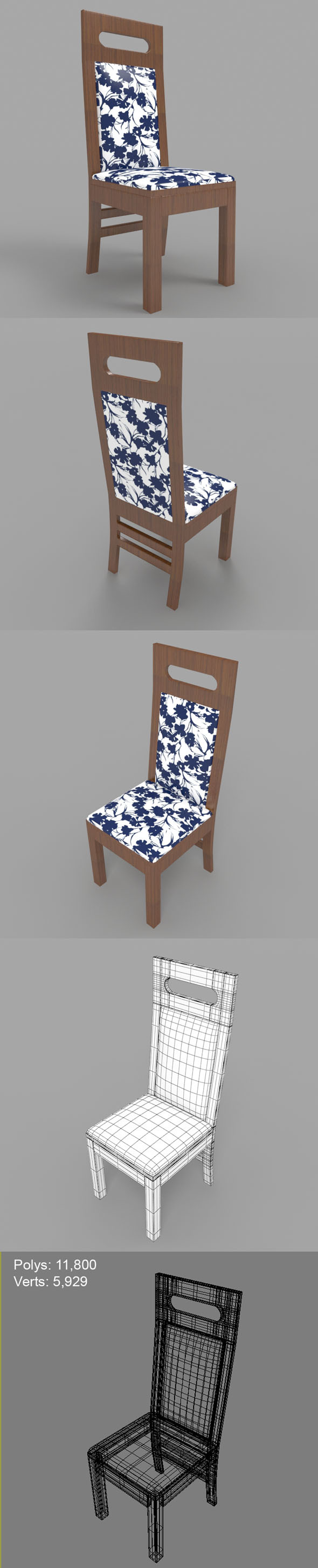 3DOcean Dining Chair-3 11402373