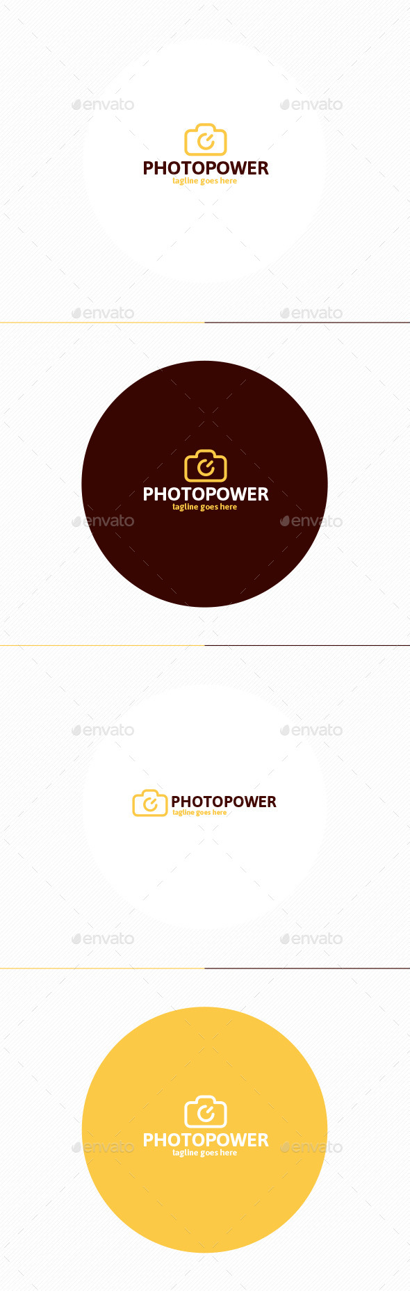 GraphicRiver Photo Power Logo 11402382