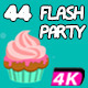 44 Flash Party Animations (44-Pack) - VideoHive Item for Sale