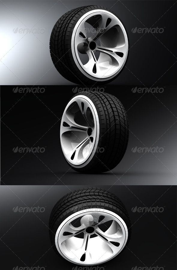 3DOcean Car wheel 140722
