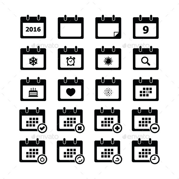 GraphicRiver Calendar Icon 11402703