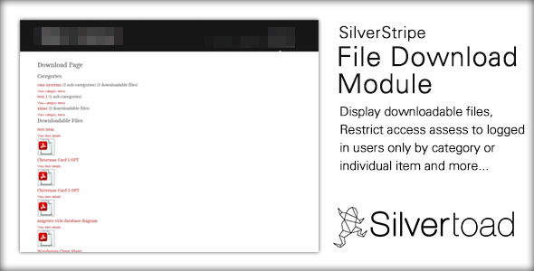 CodeCanyon SilverStripe Document Download Mudule 11402723