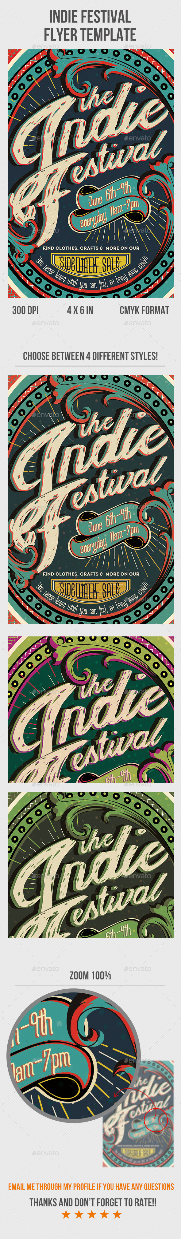 GraphicRiver Indie Festival 11402814