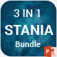 3 Stania Powerpoint Template Bundle - GraphicRiver Item for Sale