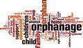 Orphanage Word Cloud Concept - PhotoDune Item for Sale