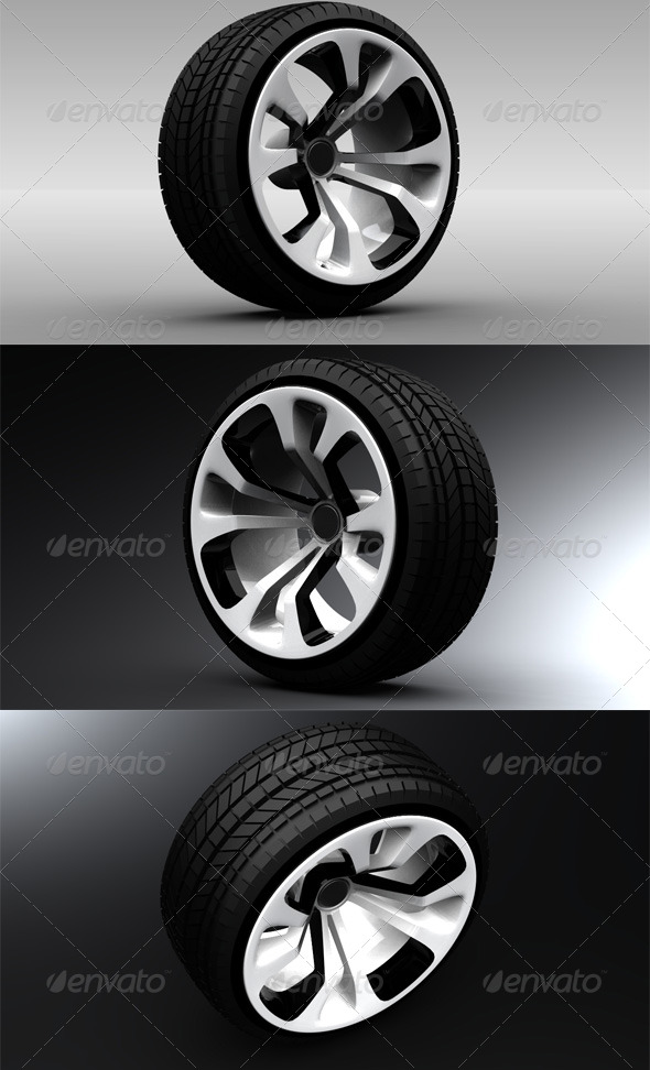 3DOcean Car Wheel 2 140728