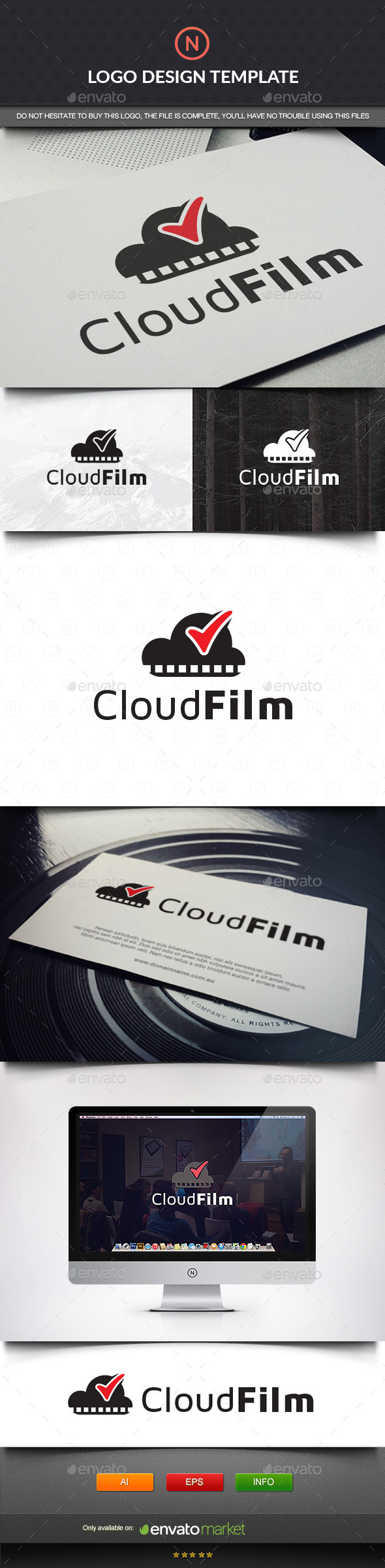 GraphicRiver Cloud Film Check 11403238