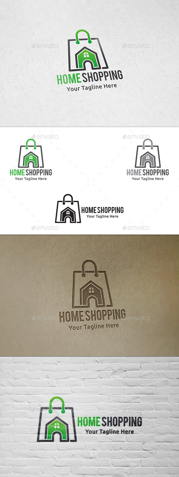 GraphicRiver Home Shopping Logo Template 11403353