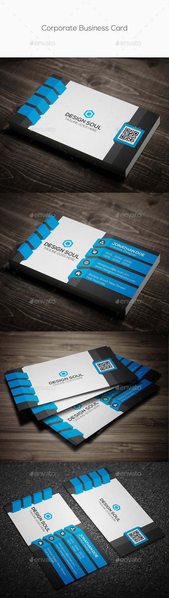 GraphicRiver Corporate Business Card 11403503