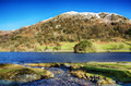 Nab Scar and Rydal Water on a sunny day. - PhotoDune Item for Sale