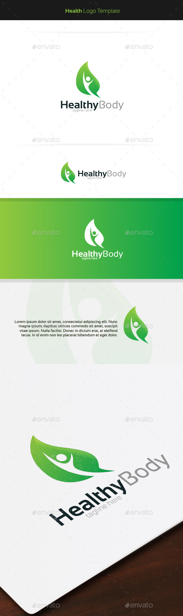 GraphicRiver Healthy Body Logo 11403591