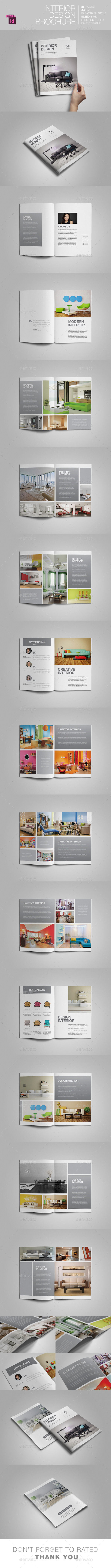 GraphicRiver Interior Design Brochure 11403664