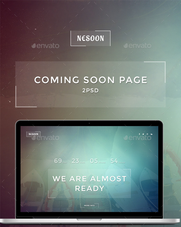 GraphicRiver NESOON Coming Soon Template 11403717