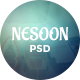 NESOON - Coming Soon Template - GraphicRiver Item for Sale