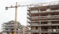 Building construction site with crane. - PhotoDune Item for Sale