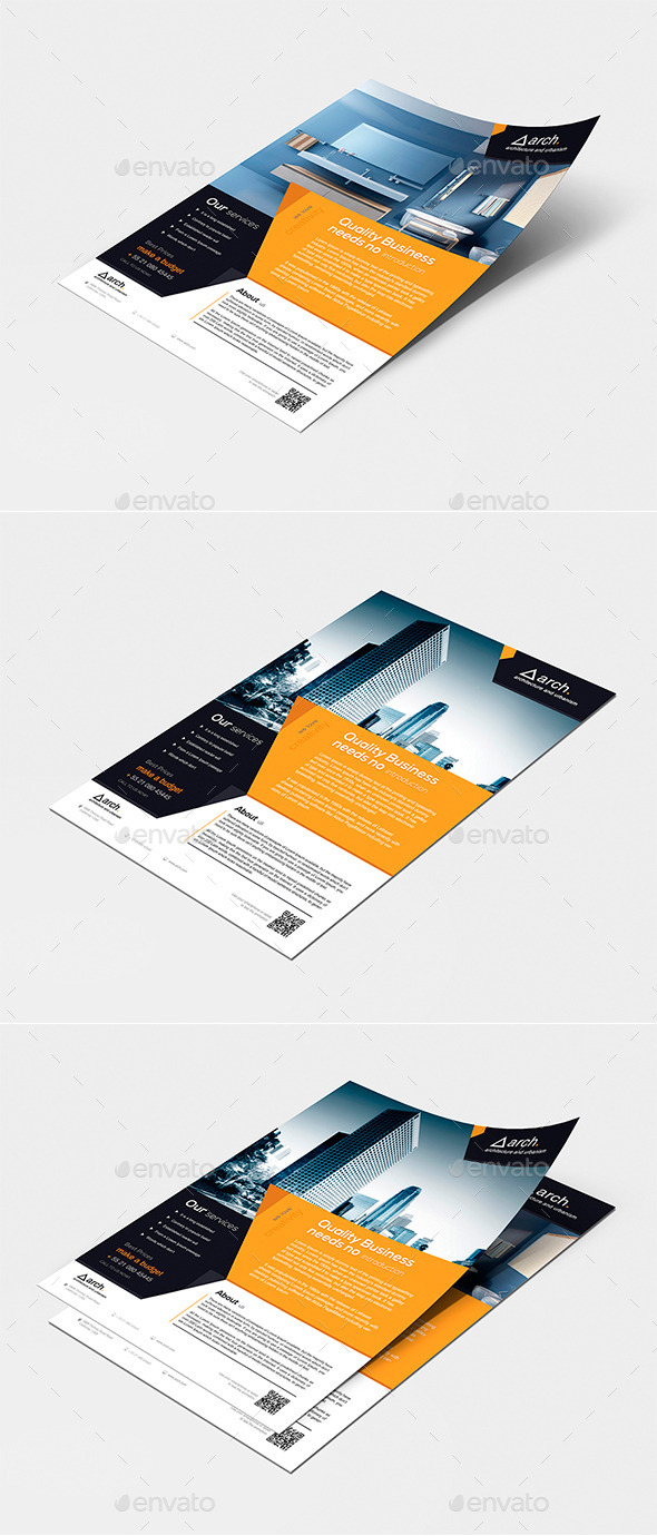 GraphicRiver Corporate Flyer Vol 01 11404032