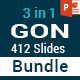 3 in 1 GON PowerPoint Template Bundle - GraphicRiver Item for Sale