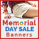 Memorial Day Sale Banners - GraphicRiver Item for Sale