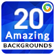 20 Amazing Backgrounds - GraphicRiver Item for Sale