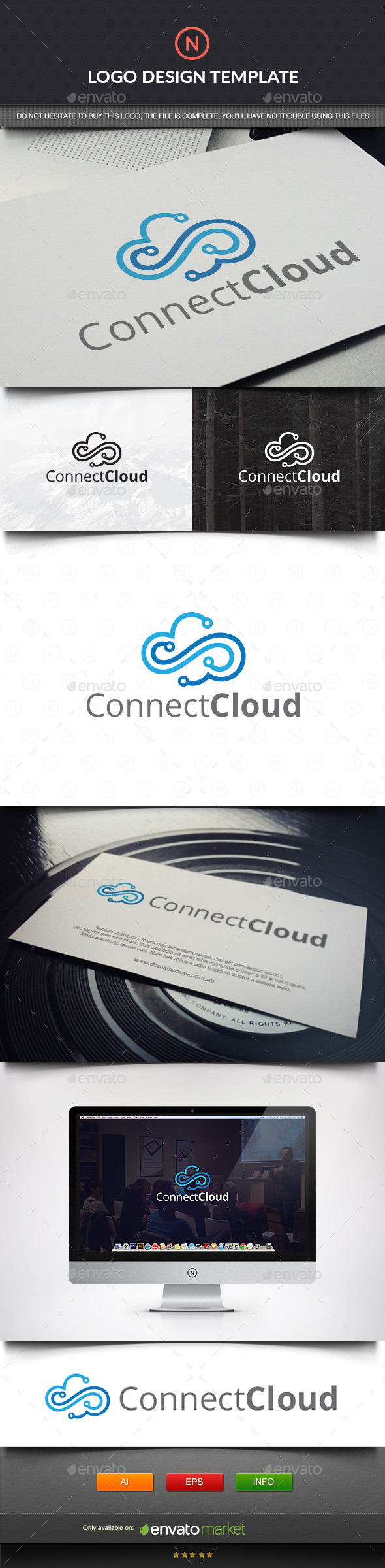 GraphicRiver Connect Cloud 11403340