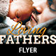 Loving Fathers Church Flyer Template - GraphicRiver Item for Sale